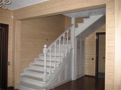 Лестница на второй этаж своими руками из