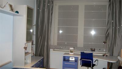 Детская комната для мальчика в современном стиле.