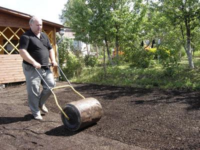 Подготовка участка под газон и посев травы своими руками 2