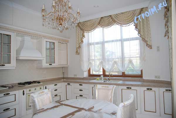Для кухни оформление окна кухни с