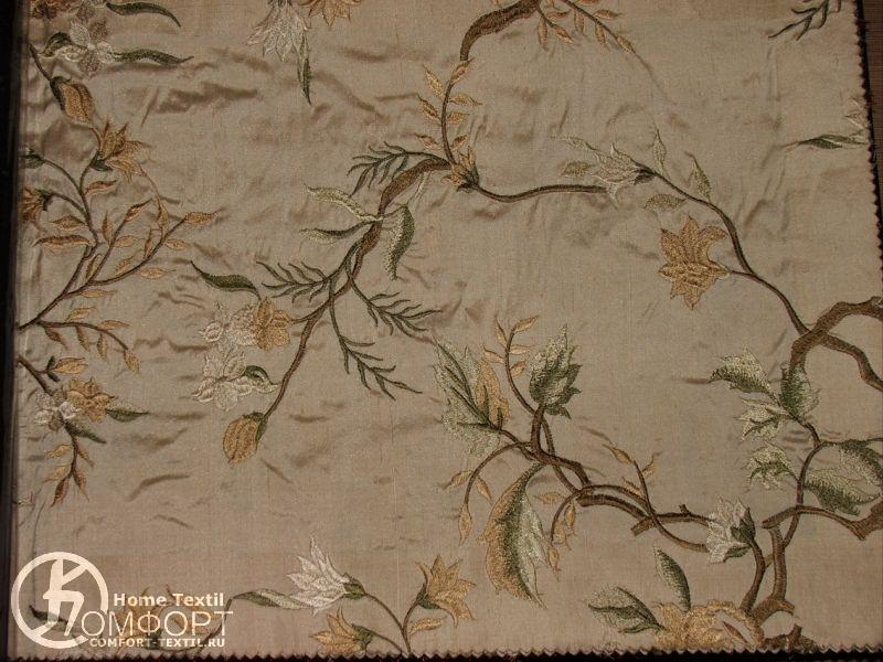 Ткань для штор вышивка 76